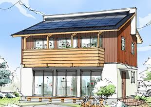 モデルハウス「須和間の家」のイメージ